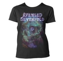T-Shirt donna Avenged Sevenfold. Space Face