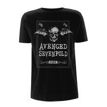 T-Shirt Unisex Avenged Sevenfold. Face Card