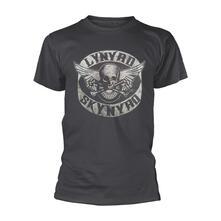 T-Shirt Unisex Tg. M Lynyrd Skynyrd. Biker Patch