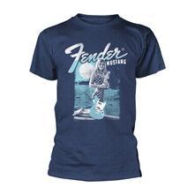 T-Shirt Unisex Fender. Mustang Girl. Taglia L