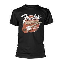 T-Shirt Unisex Tg. L. Fender: Mustang Bass