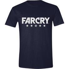 T-Shirt Unisex Tg. M. Far Cry 5 Logo Navy