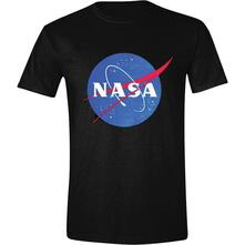 T-Shirt Unisex Tg. L Nasa. Logo Black