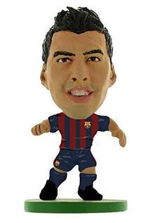 Soccerstarz. Barcelona Luis Suarez Home Kit 2018 Version