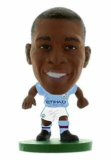 Soccerstarz. Man City Fernandinho. Home Kit 2018 Version