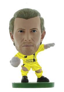 Soccerstarz. Liverpool Loris Karius. Home Kit2019 Version