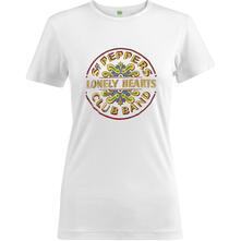 T-Shirt Donna Beatles. Sgt Pepper Drum Colour