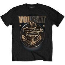 T-Shirt Unisex Tg. M Volbeat. Anchor