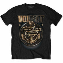 T-Shirt Unisex Tg. L Volbeat. Anchor