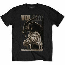 T-Shirt Unisex Tg. L. Volbeat Boogie Goat