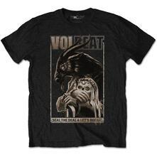T-Shirt Unisex Tg. XL. Volbeat Boogie Goat