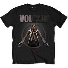 T-Shirt Unisex Tg. L. Volbeat King Of The Beast