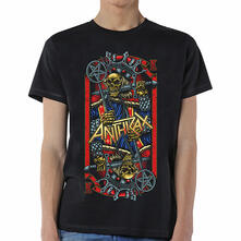 T-Shirt Unisex Tg. 2XL Anthrax. Evil King