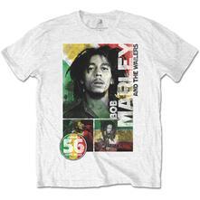 T-Shirt Unisex Tg. 2XL Bob Marley. 56 Hope Road Rasta