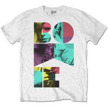 T-Shirt Unisex Tg. 2XL David Bowie. Colour Sax