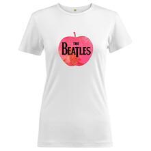 T-Shirt Donna Tg. L. Beatles: Apple