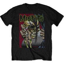 T-Shirt Unisex Tg. M Misfits. Pushead