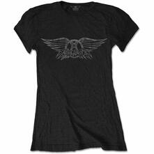 T-Shirt Donna Tg. S Aerosmith. Vintage Logo