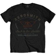 T-Shirt Unisex Tg. L Aerosmith. Back In The Saddle