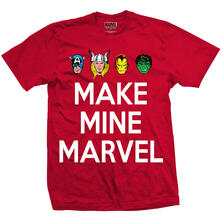 Marvel Comics Men'S Tee: Make Mine (Large)