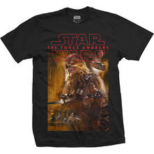 Star Wars Men'S Tee: Episode Vii Chewbacca Composition (Small)