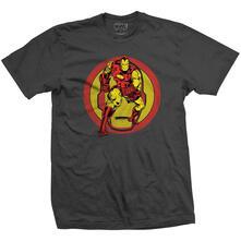 T-Shirt Unisex Tg. L Marvel Comics. Iron Man Dual