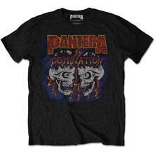 T-Shirt Unisex Tg. L Pantera - Domination