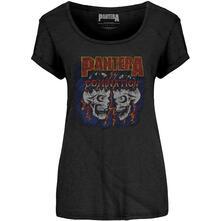 T-Shirt Donna Tg. L Pantera - Domination Scoop Neck