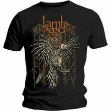T-Shirt Unisex Tg. S Lamb Of God: Crow
