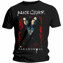 T-Shirt Unisex Tg. XL Alice Cooper. Paranormal Splatter
