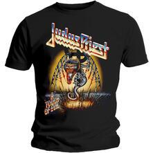 T-Shirt Unisex Tg. M Judas Priest. Touch Of Evil