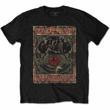 T-Shirt Unisex Tg. L. Tom Petty & The Heartbreakers: Mojo Tour