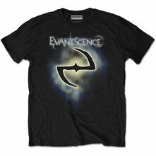 T-Shirt Unisex Tg. L Evanescence - Classic Logo