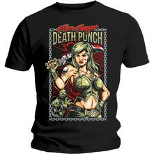 T-Shirt Unisex Tg. S Five Finger Death Punch. Assassin