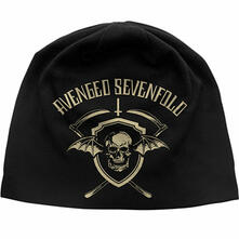 Berretto Avenged Sevenfold. Shield Discharge Print