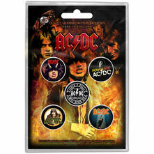 Badge Pack Ac/Dc. Highway To Hell