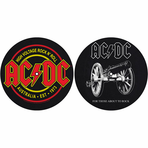 Image of Tappeto Per Giradischi Ac/Dc. For Those About To Rock/High Voltage