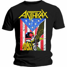 T-Shirt Unisex Tg. 2XL Anthrax. Dread Eagle