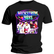 T-Shirt Unisex Tg. S Backstreet Boys. Larger Than Life