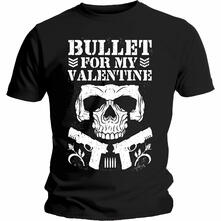 T-Shirt Unisex Tg. M Bullet For My Valentine. Bullet Club