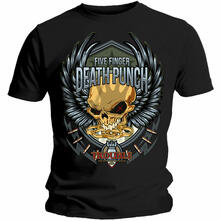 T-Shirt Unisex Tg. L Five Finger Death Punch. Trouble