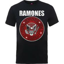 T-Shirt Unisex Tg. M Ramones. Red Fill Seal