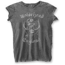 T-Shirt Donna Tg. L. Motorhead: England