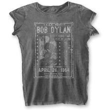 T-Shirt Donna Tg. L. Bob Dylan: Curry Hicks Cage