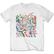 T-Shirt Unisex Tg. L. Pink Floyd: Pollock Prism