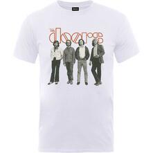 Doors. Band Standing T-Shirt Unisex Tg. M