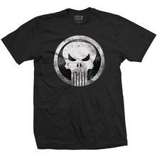 T-Shirt Unisex Tg. 2XL Marvel Comics. Metal Badge