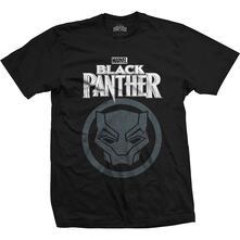 T-Shirt Unisex Tg. M. Marvel Comics Black Panther Big Icon