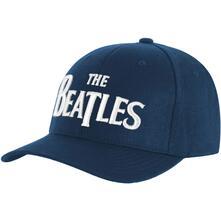 Cappellino Beatles - Baseball White Drop T Logo Mid Blue