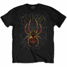 T-Shirt Unisex Tg. 2XL Kiss. Spider